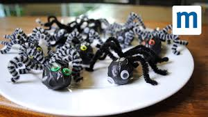 spooky halloween spider lollies youtube