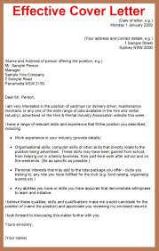 Examples For Cover Letter For Resume  example cover letters for     My Document Blog