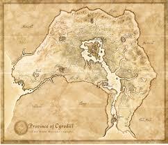 Morrowind Map Tamriel Map