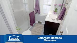 Lowes Bathroom Remodeling Ideas Bathroom Lowes Bathroom Remodel With Glass Shower Stall And Dark