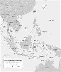 Southeast Map Anandaroop Roy Islam In Southeast Asia