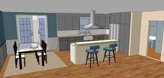 Interior Design Ideas For Open Floor Plan by Luxury Open Plan Kitchen Design Decoration Offer Plenty Wooden