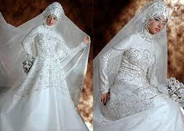 hijab de la mariée