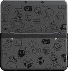 new 3ds xl black friday target photos of the super mario black white edition new 3ds nintendo