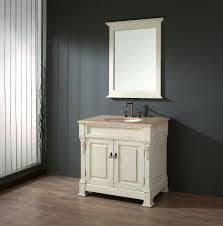 Attractive Antique White Bathroom Vanities Legion  Inch Classic - 48 bathroom vanity antique white