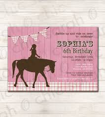 Free Printable Birthday Invitation Cards With Photo Free Printable Horse Birthday Invitations Printable Birthday