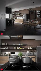 kitchen design ideas modern industrial kitchen design with