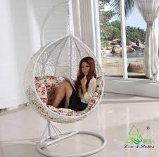 Macrame Hammock Chair Furniture Adorable White Swingasan Chair Colorful Accents