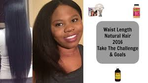 waist length natural hair 2016 phase 1 take the challenge and