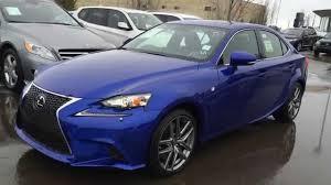 lexus is sedan 2016 new ultrasonic blue 2015 lexus is 350 awd f sport series 2 review