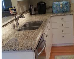 kitchen granite countertops and undermount sink with kitchen