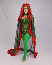 Poison Ivy Halloween Costume Kids Custom Uma Thurman Inspired Poison Ivy Leotard