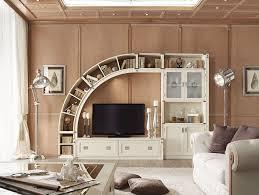 living room wall units combine with bookshelves natural johansen