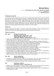 Retail Professional Summary N990780293 Michael Rebry Cv Resume