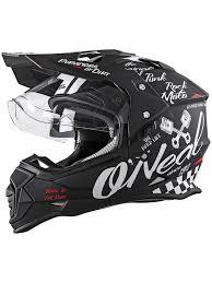 black friday motocross gear oneal black white 2018 sierra ii torment mx helmet oneal