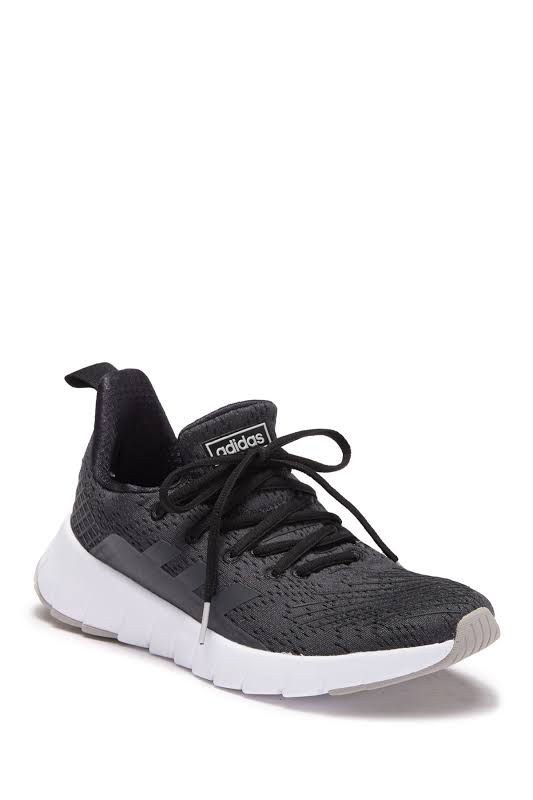 Adidas Asweego Core Black / Grey Six Two Ankle-High Mesh Running 7.5M