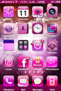 pink iphone themes for women