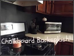 Diy Kitchen Backsplash Chalkboard Kitchen Backsplash Chalkboard Backsplash I Like
