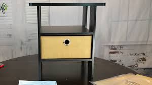 cheap espresso colored bedroom end table furinno night stands cheap espresso colored bedroom end table furinno night stands 11157ex setup and review