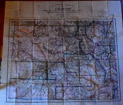 Map Of Colorado by Nell U0027s Map Of Colorado Mt Gothic Tomes And Reliquary