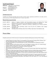 Examples Of Hvac Resumes by Hvac Design Engineer Sample Resume Haadyaooverbayresort Com