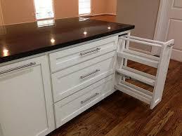 kitchen pull out spice rack pan organizer rack kitchen