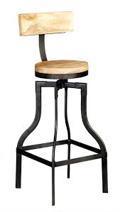 bar stools industrial bar stools with backs industrial stools