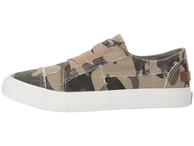 Blowfish Marley Canvas Natural Camoflauge Ankle-High Sneaker 6M