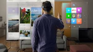 Apple VR AR release date and feature rumours  patents  images and     Microsoft Hololens Augmented Reality