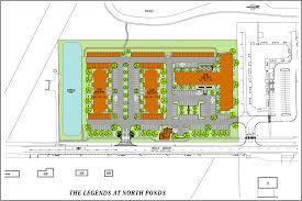 site plan the legends at north ponds u2013 webster new york