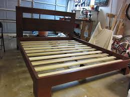 Build Your Own Platform Bed Base by How To Build A Beautiful Custom Bed Frame For Under 300 For Your