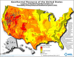 Big Map Of The United States by U S Has Large Geothermal Resources But Recent Growth Is Slower