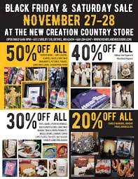 black friday christmas tree deals black friday u0026 saturday sale at the new creation country store