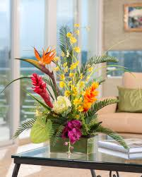 decorating officescapesdirect for sweet colorful floral