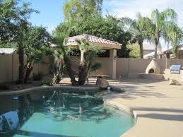 Outdoor Patio With Roof by Contemporary Patio With Outdoor Kitchen U0026 Fence In Gilbert Az