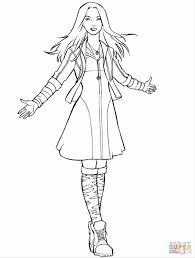 printable pretty witch coloring page witch coloring page for kids
