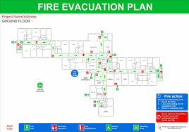 format mail evacuation plans lasertech floorplans emergency