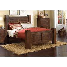 King Size Bedroom Set With Armoire Dark Pine 6 Piece Queen Bedroom Set Trestlewood Rc Willey