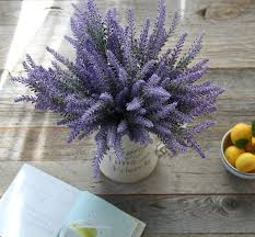 Home Parties Home Decor by Amazon Com Artificial Lavender Flowers 8 Large Pieces To Make A