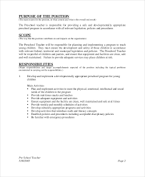 Day Care Teacher Job Description For Resume by Substitute Teacher Job Description Head Bartender Job Description