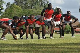 Kenya's 7s Rugby Team