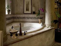 Jetted Tub Shower Combo Corner Bathtub Ideas 38 Cool Bathroom Also Corner Tub Shower Combo