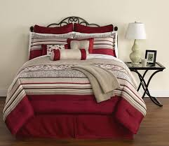 Red King Comforter Sets 16 Piece Damaris Comforter Set