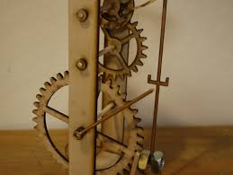 Free Wooden Clock Plans Dxf by Galileo U0027s Pendulum Clock By Zombiecat Thingiverse