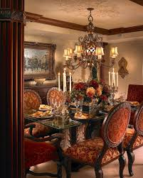 Best Dining Rooms Images On Pinterest Castle Interiors - Tuscan dining room