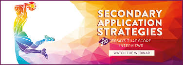 Secondary App  Georgetown University School Of Medicine Accepted blog Watch our upcoming webinar  Writing Secondary Essays That Get You Accepted