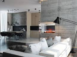 the greatest selection of concrete fireplace ideas for the living