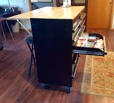 Used Kitchen Islands For Sale Tool Box Made Into A Kitchen Island With Side Bar For Sitting