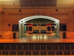 Haussmann - Saint-Lazare Station