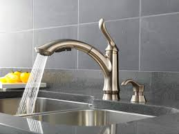 black kitchen faucet stainless steel single hole handle pull down